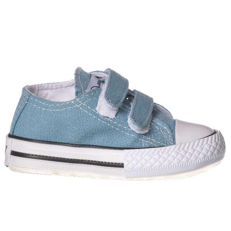 Mavi Işıklı Keten Ayakkabı