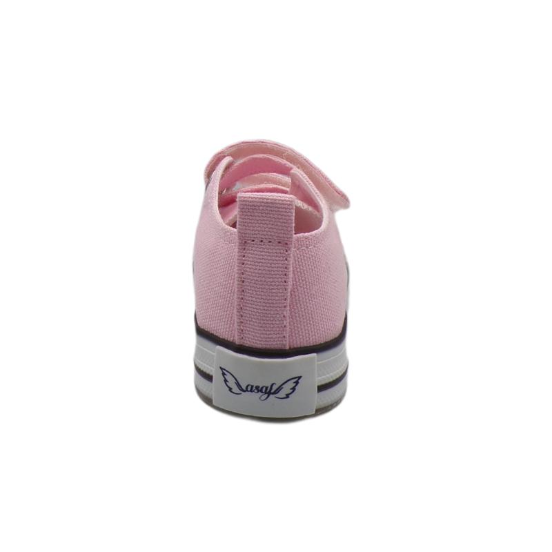 Pembe Işıklı Keten Ayakkabı