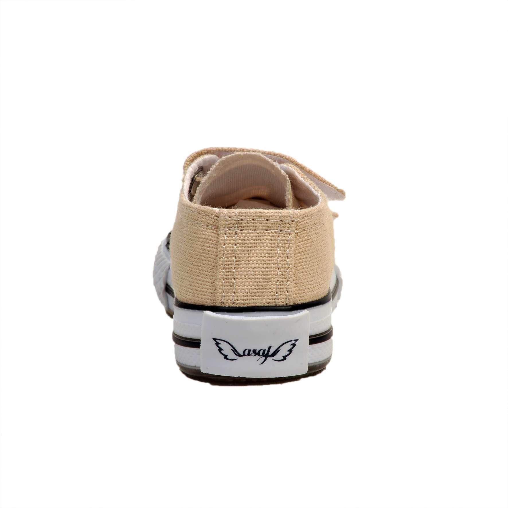 Bej Işıklı Keten Ayakkabı