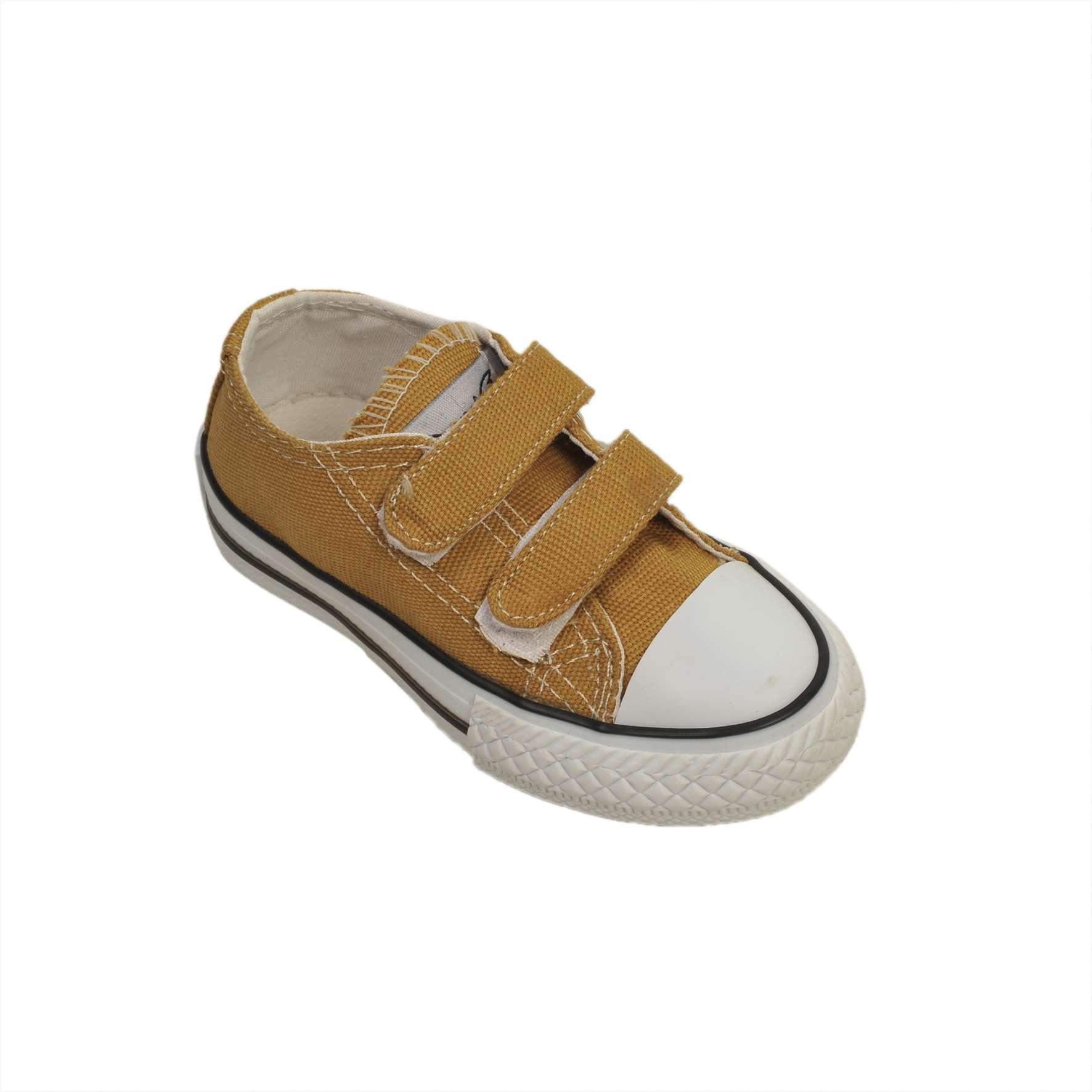 Hardal Işıklı Keten Ayakkabı