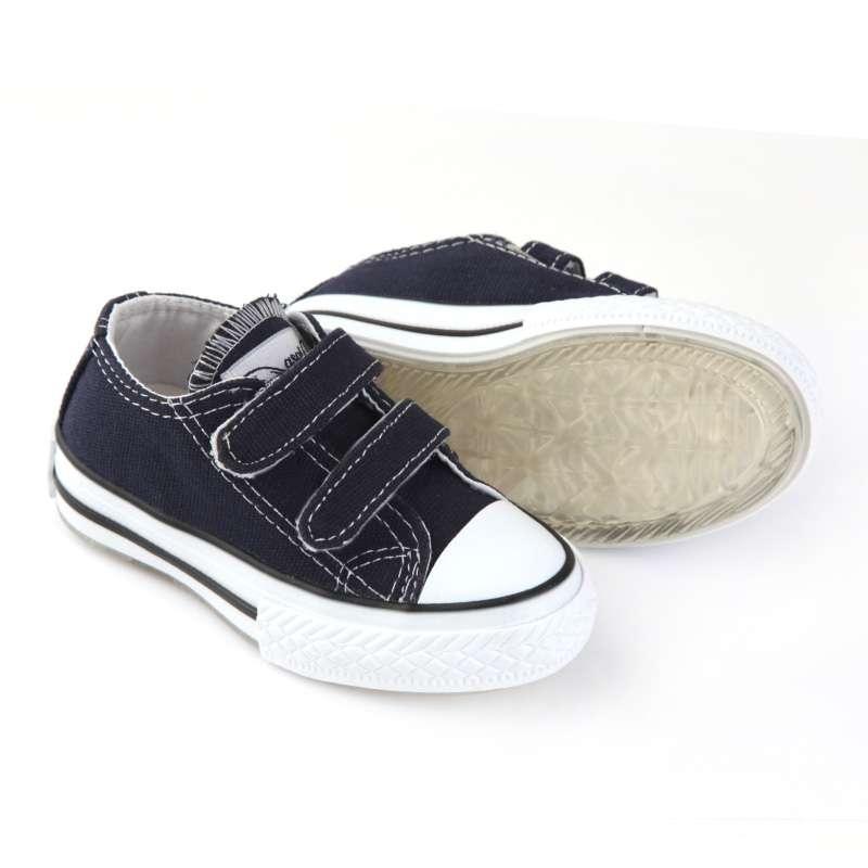 Lacivert Işıklı Keten Ayakkabı