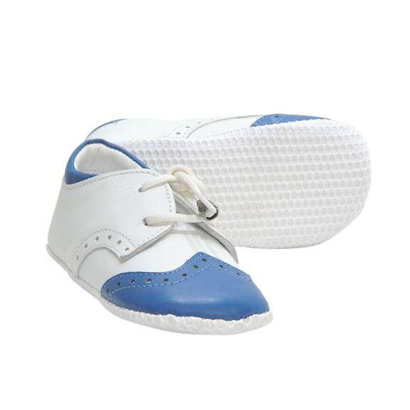 NANO PATİK Beyaz Açık Mavi
